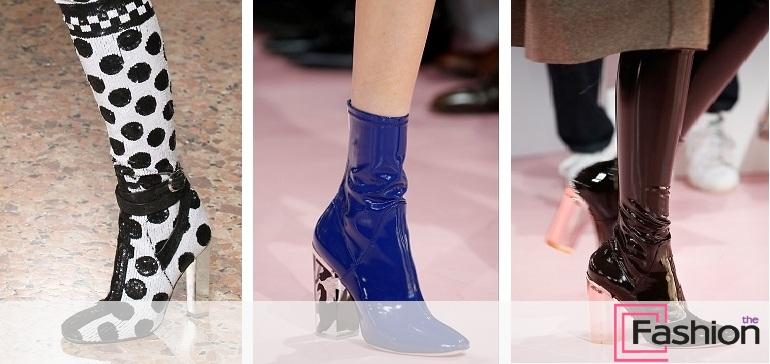 Також продовжують втілюватися і всі характерні для зимового взуття  тенденції. Хутряні обробки bfde16d9992b2