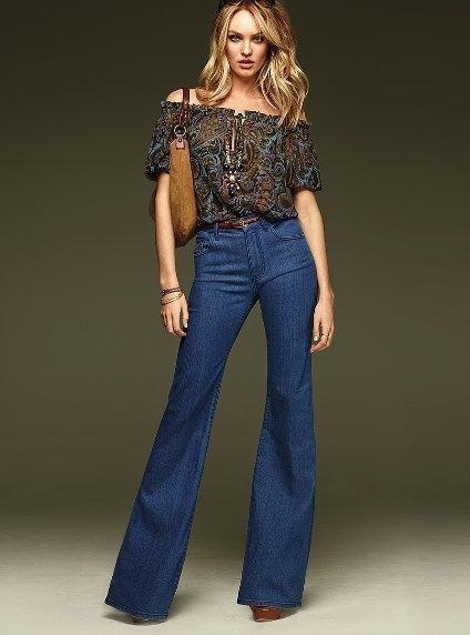 Жіночі брюки-кльош. Розкльошені брюки. 86f33548a24e0