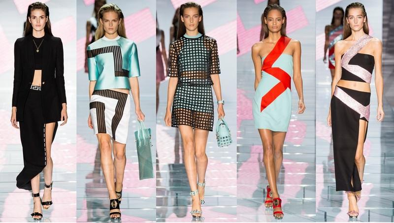 Дизайнери модного будинку Versace потрудилися випустити цікаву лінію  асиметричних суконь. Крій тканини у цих моделей по косій - цікавий прийом bc118cb3566c9