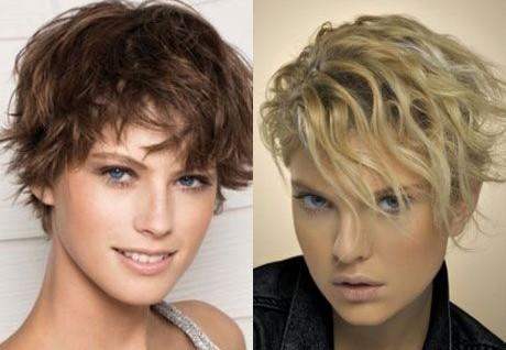 Krøller kort hår Krøller med