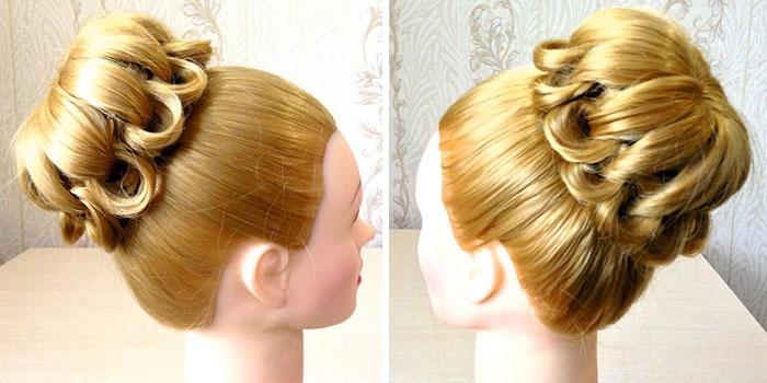 Fryzury Są Proste I Piękne Do średnich Włosów Fryzury Dla
