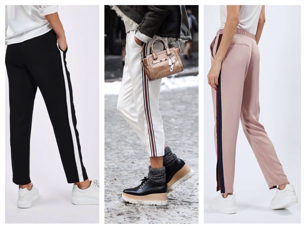 Спорт штани з лампасами. Жіночі брюки з лампасами. Як зважитися ... e8154308bdea1