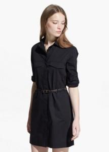 68b7a2f6 Designere tok vare på at jenta kunne være fasjonabel og samtidig bevare sin  egen stil. Kjole skjorte kan være grunnlaget for bildet i urbane, denim, ...