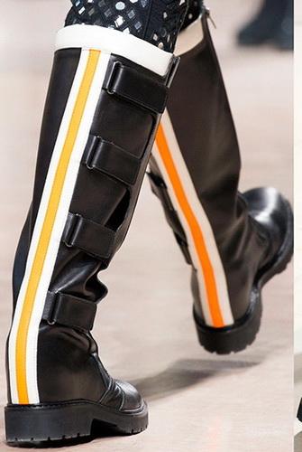 Ідеальною взуттям для весни можуть бути чоботи і півчобітки з рифленою  підошвою 85edc084799a8